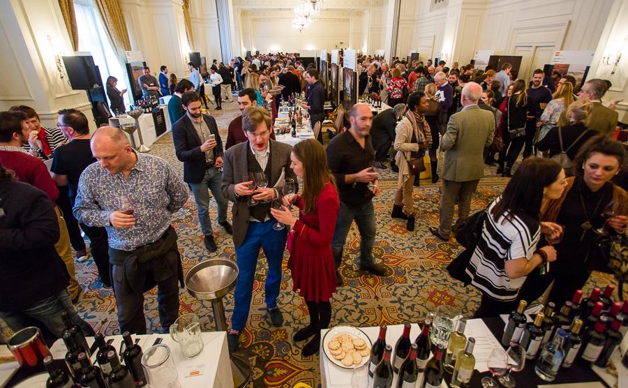 spain and portugal wine tasting - decanter fine wine encounter