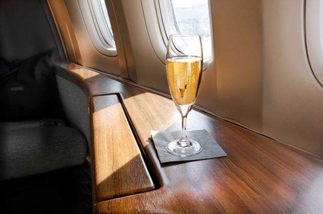 airline wine