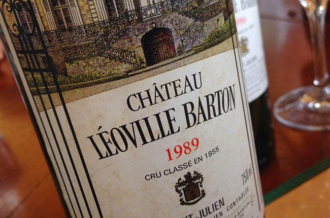 Chateau Leoville Barton, St-Julien 2CC 1989