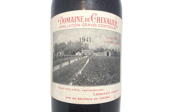 Domaine de Chevalier Graves 1941*