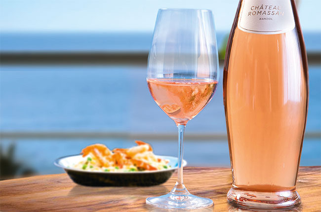 pairing rosé wines with food