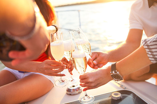 Wine and superyachts: Inside the billionaires' playground