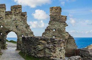 tintagel castle, king arthur's castle