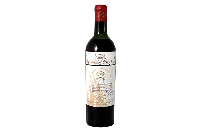 Chateau Mouton Rothschild 1945