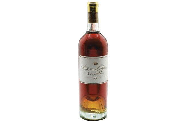 Wine Legend: Château d'Yquem 1921 - Decanter