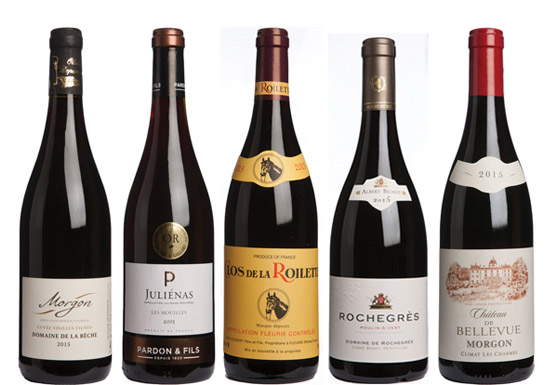 Cru Beaujolais 2015 Panel Tasting