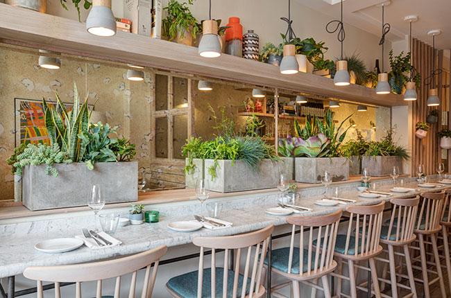 Lorne restaurant, London