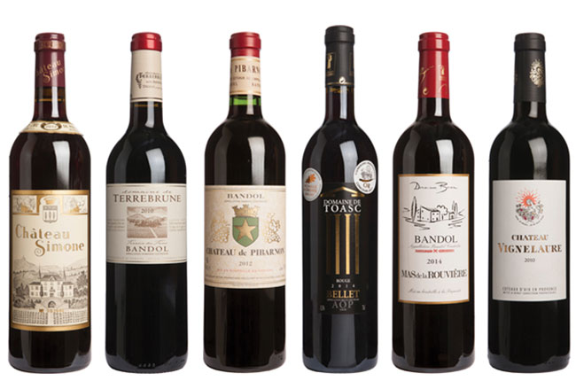 Provence red wine