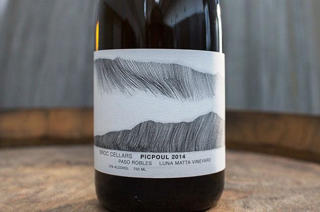 2014 Picpoul, Broc Cellars
