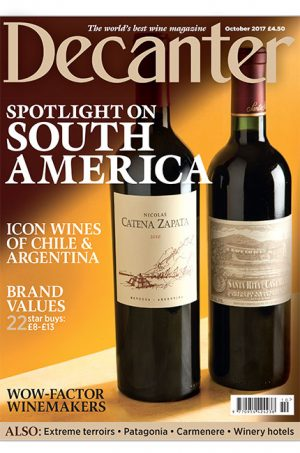 Decanter October 2017 issue