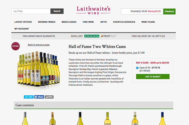 Direct Wines Laithewaites