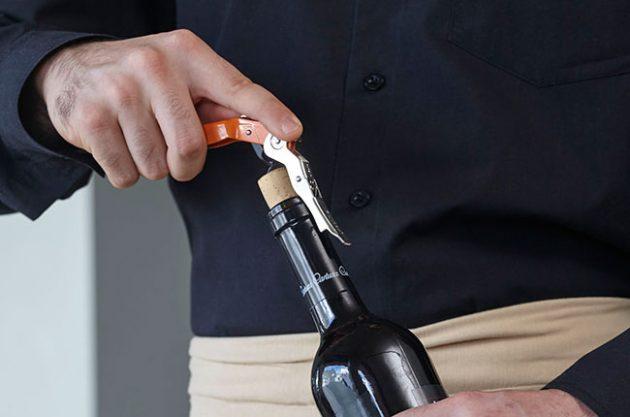 cork popping, wine
