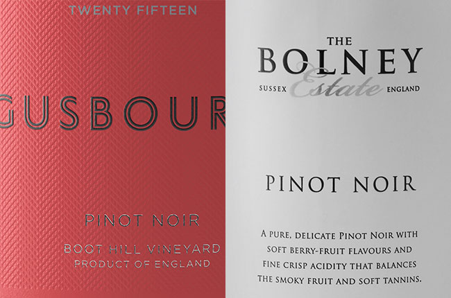 english pinot noir wine