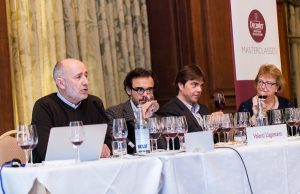 Sarah Jane Evans MW presents wines at Decanter Masterclass