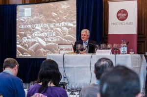 Pedro Ballesteros MW presents fine wine at the Landmark Hotel