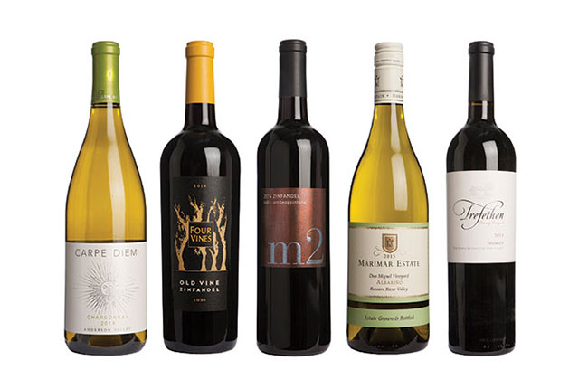 California wines under £40