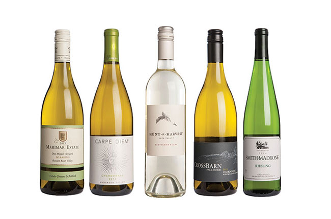 great value California white wines