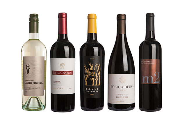 California wines under £20