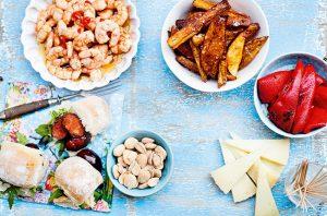 Cava and food pairings tapas