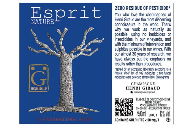 Henri Giraud zero pesticide
