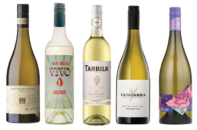 alternative australian white wines