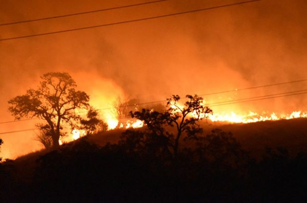Atlas Fire moves into Solano County, prompting evacuations