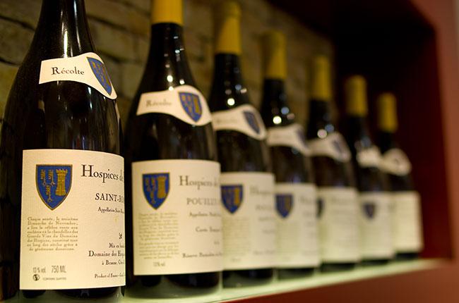 Hospices de Beaune auction wines