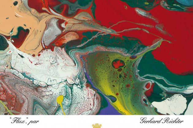 Mouton Rothschild 2015 Label Designed By Gerhard Richter