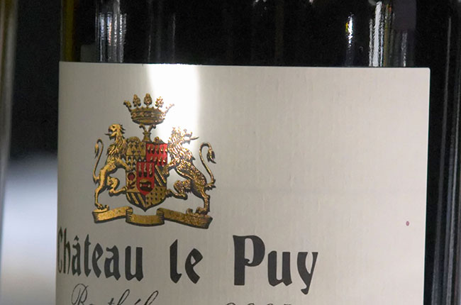 chateau le puy wines, bordeaux