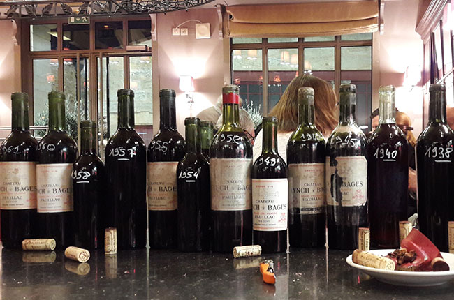 lynch-bages wines, old vintages, bordeaux