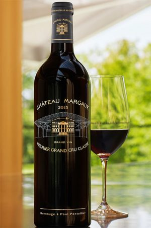 How the Margaux 2015 bottle looks.