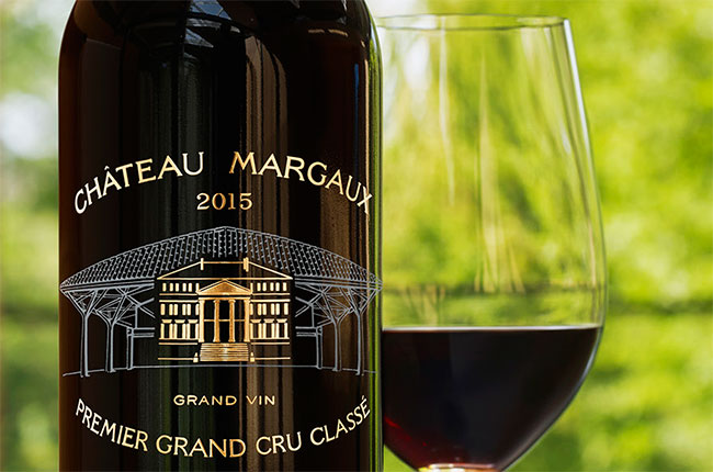 margaux 2015 bottle