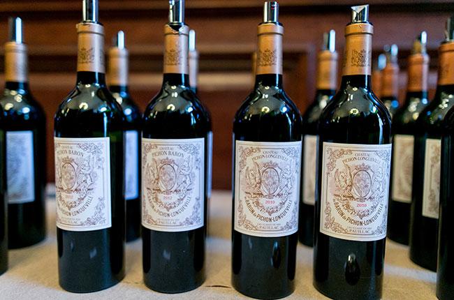 Pichon Baron wines at the Decanter Fine Wine Encounter 2017.