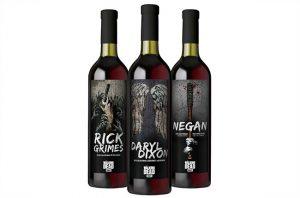 The Walking Dead wine range.