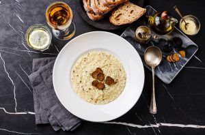 Truffle risotto, wine with truffle recipes
