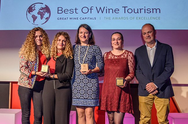 Rioja best of wine tourism 2018