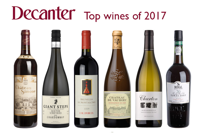 Top 20 wines of 2017 from Decanter Panel Tastings