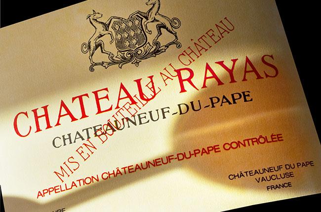rayas, Châteauneuf-du-pape 2016