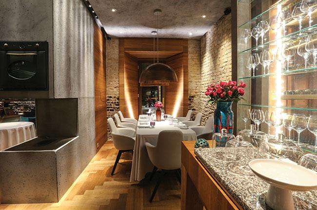 Babel restaurant interior
