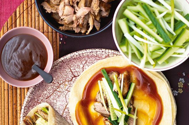 Peking duck wine