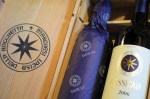 Sassicaia wines.