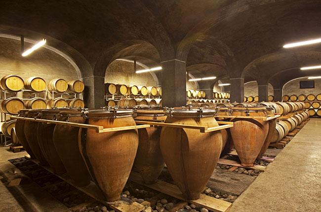 Spanish amphorae tinajas