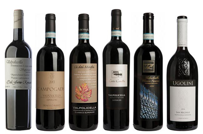 Valpolicella Superiore wines Panel Tasting