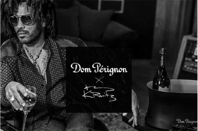Dom Pérignon and Lenny Kravitz