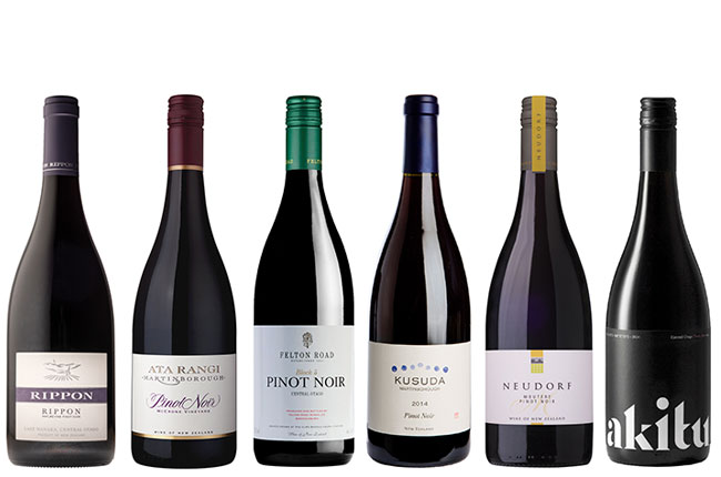 Top New Zealand Pinot Noir
