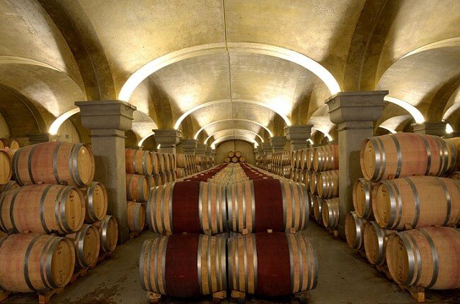 tignanello wines, cellars