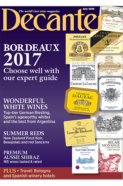 Decanter July 2018