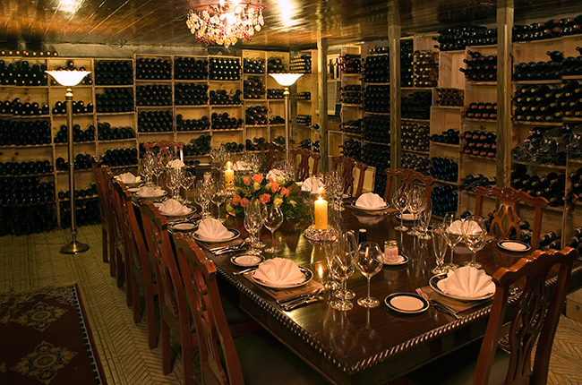 Graycliff The World S Third Largest Wine Cellar Hidden In