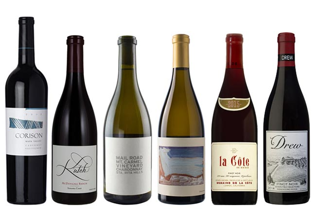 Premium California wines to buy