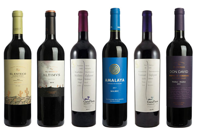 Calchaquí Valley red wines